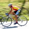 Sportsman cycling